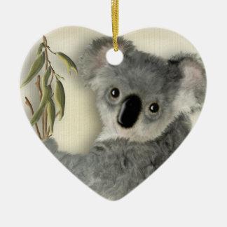 Cute Koala Personalized Christmas Ornament