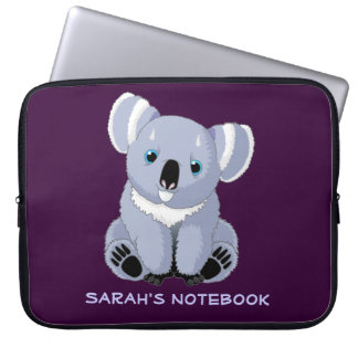 Cute Koala Personalized Electronics Bag