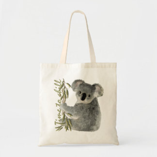 Cute Koala Budget Tote Bag
