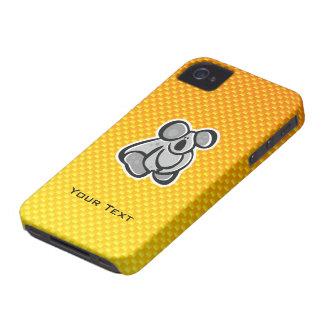 Cute Koala Yellow Orange iPhone 4 Cases