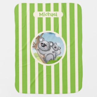 Cute Koala's Baby Blanket