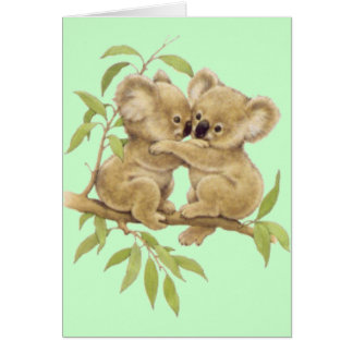 Cute Koalas Card