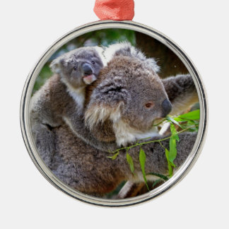 Cute Koalas Christmas Ornament