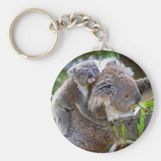 Cute Koalas Key Ring
