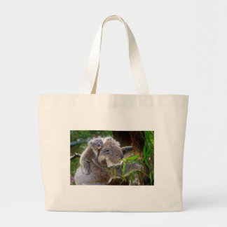 Cute Koalas Large Tote Bag