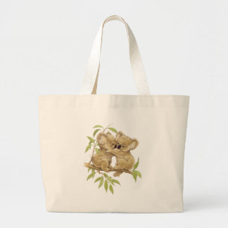 Cute Koalas Large Tote Bag
