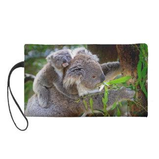 Cute Koalas Wristlet Clutch