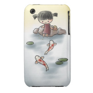 Cute Koi iPhone case Case-Mate iPhone 3 Cases