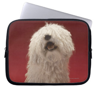 Cute Komondor Dog Laptop Sleeve