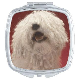 Cute Komondor Dog Mirror For Makeup