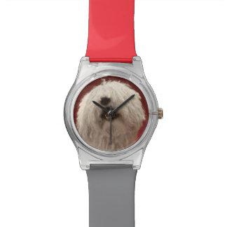 Cute Komondor Dog Wrist Watches