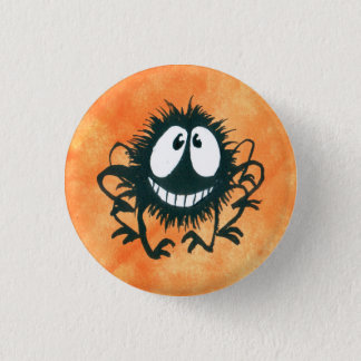 Cute Kooky Halloween Spider Button! 3 Cm Round Badge