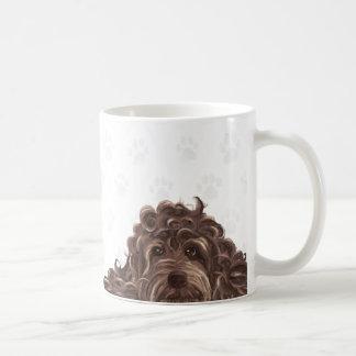 Cute labradoodle mug