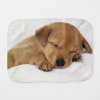 Cute Labrador Puppy Burp Cloth