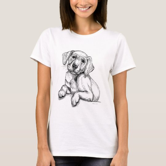 Cute Labrador Puppy T-Shirt