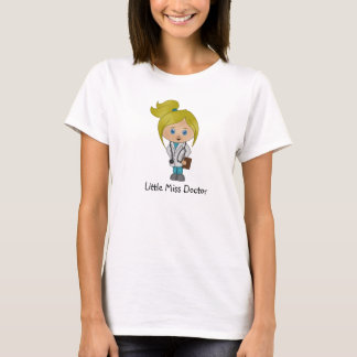 Cute Lady Doctor  T Shirt - Blonde