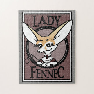 CUTE LADY FENNEC FOX PUZZLE