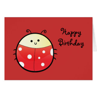 Cute Ladybird Card