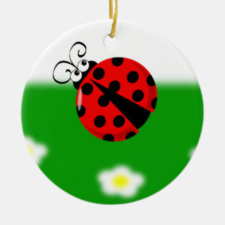 Cute Ladybird Ornament