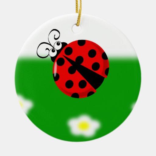 Cute Ladybird Ornament