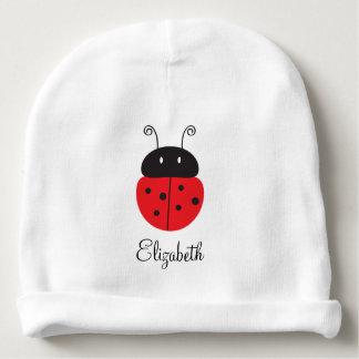 Cute Ladybug Baby Beanie Hat