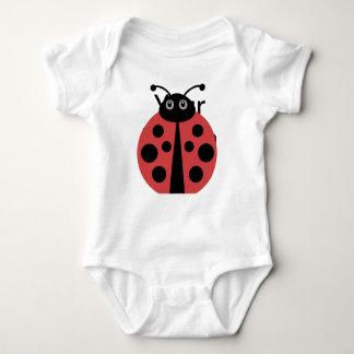 Cute Ladybug Baby Bodysuit