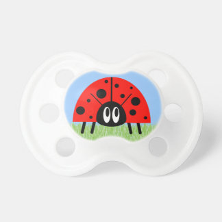 Cute Ladybug Baby Pacifiers
