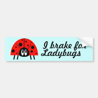 Cute Ladybug Bumper Stickers