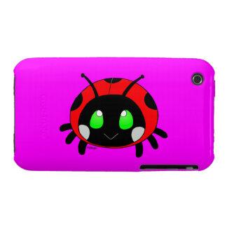 Cute ladybug iPhone 3 cover