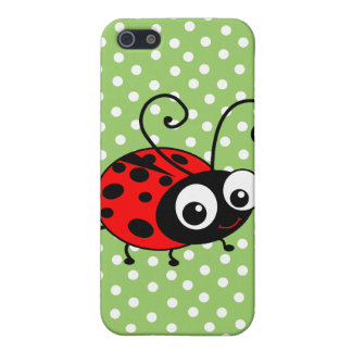 Cute Ladybug Case For The iPhone 5