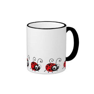 Cute Ladybug Coffee Mug