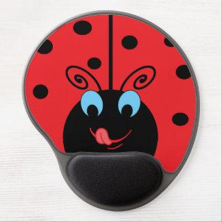 Cute Ladybug Gel Mousepad