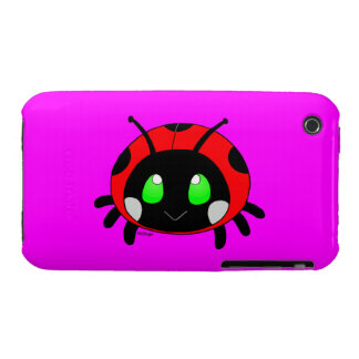 Cute ladybug iPhone 3 cover
