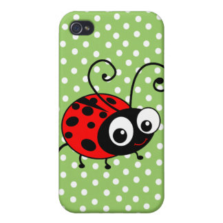Cute Ladybug iPhone 4/4S Case