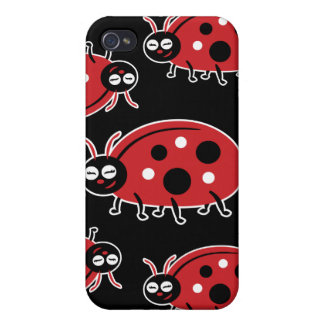 Cute Ladybug iPhone 4/4S Covers