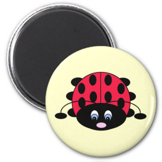 Cute Ladybug Magnet