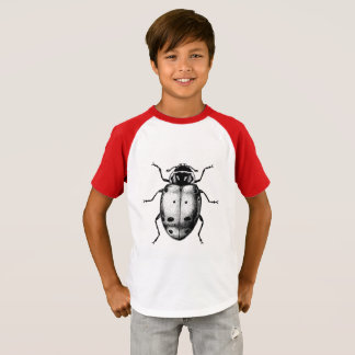 Cute Ladybug Modern Woodland Jersey T-shirt