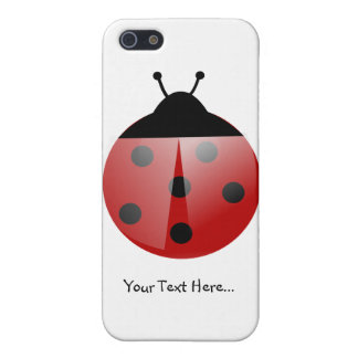 Cute Ladybug on White iPhone5C Case iPhone 5/5S Covers