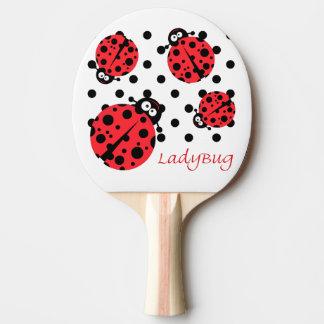 Cute Ladybug Ping Pong Paddle