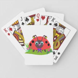 Cute Ladybug Playing Cards