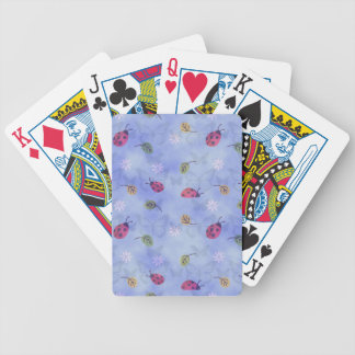 Cute Ladybugs Bicycle Playing Cards