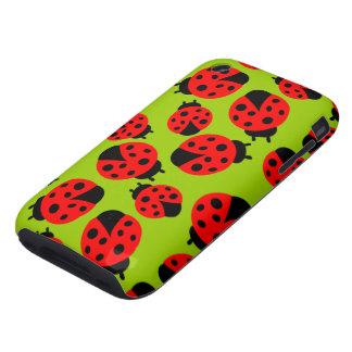 Cute Ladybugs iPhone 3 Tough Case