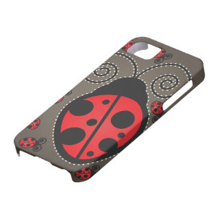 Cute Ladybugs iPhone 5 Case-Mate Barely There