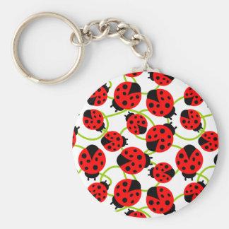 Cute Ladybugs Key Ring