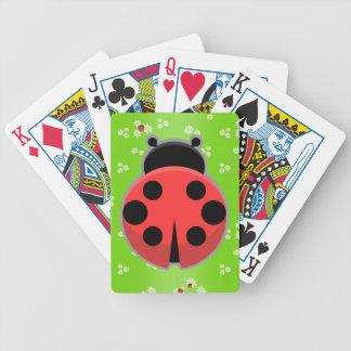 Cute Ladybugs Poker Deck