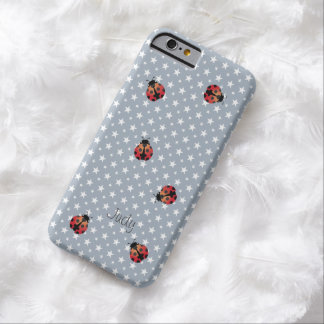 Cute Ladybugs Star Background iPhone 6 Case