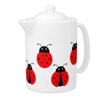 CUTE LADYBUGS Teapot