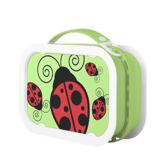 Cute Ladybugs yubo Lunchbox
