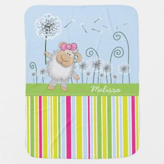 Cute Lamb Baby Blanket