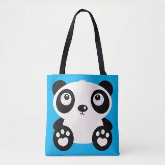 Cute Large Panda Totes Bag